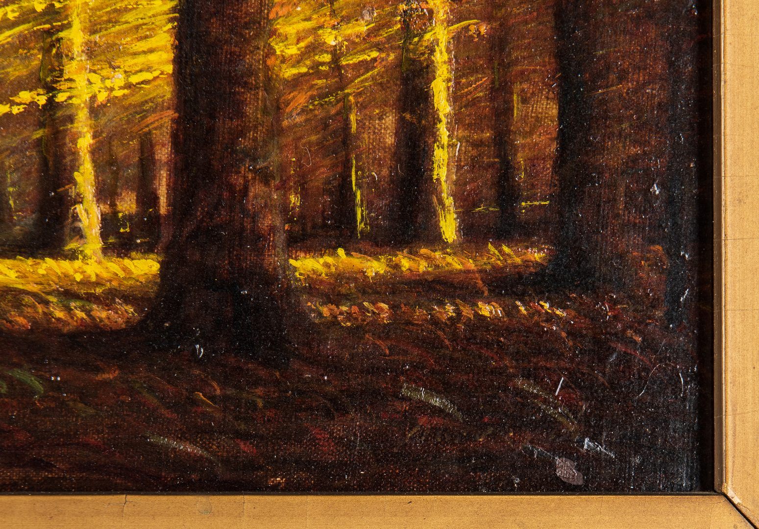 Lot 87: Harvey Joiner O/B, Autumn Landscape Painting
