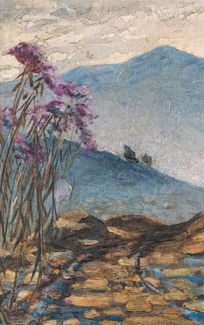 Lot 92: Mayna Avent Tennessee Landscape