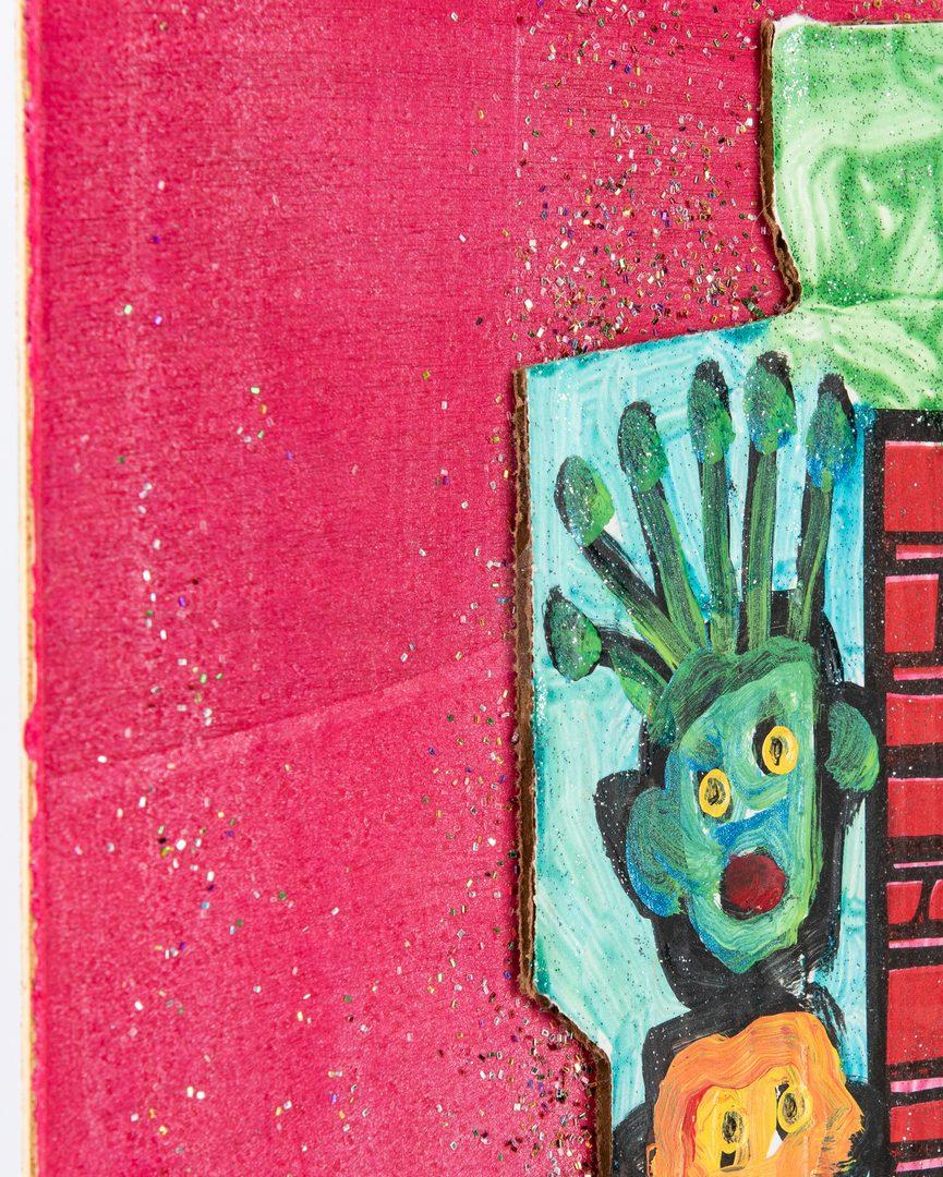 Lot 111: 3 Folk Art Works