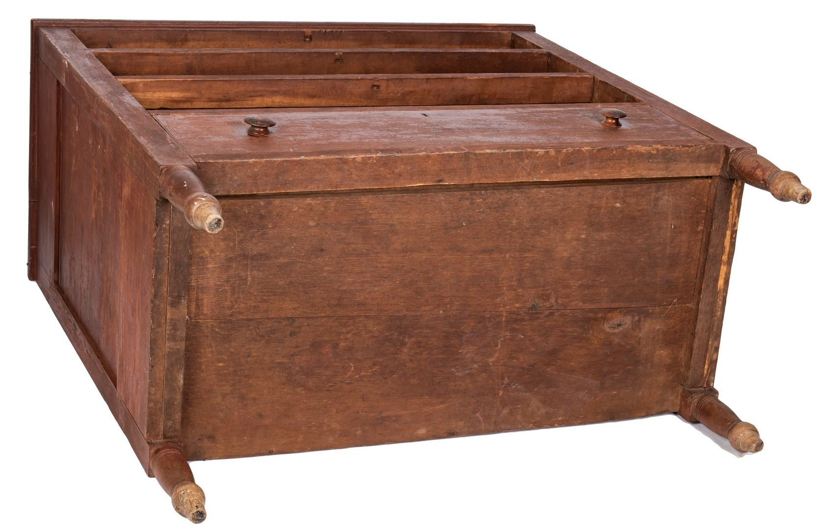 Lot 116: Tennessee Sheraton Chest of Drawers