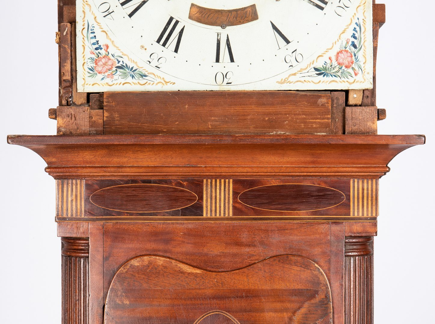 Lot 119: American Federal Tall Case Clock, Lucas Ryerson