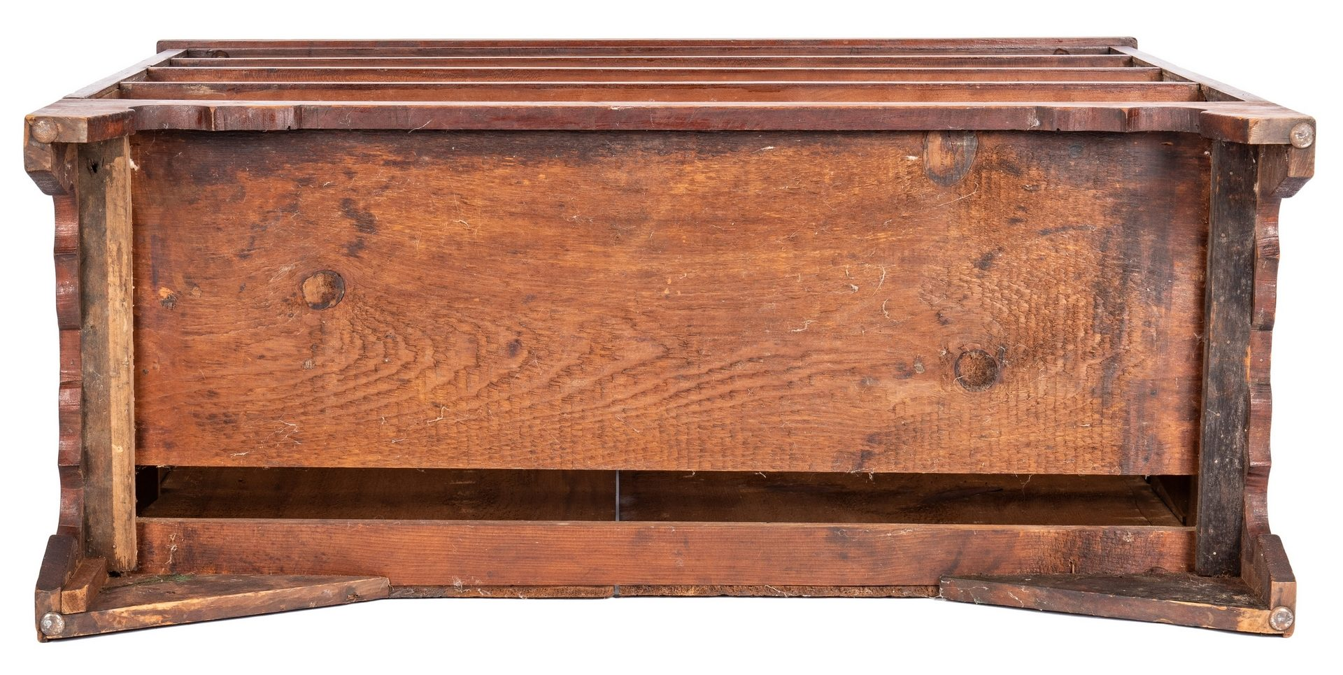 Lot 120: Southern Hepplewhite Cherry Chest of Drawers