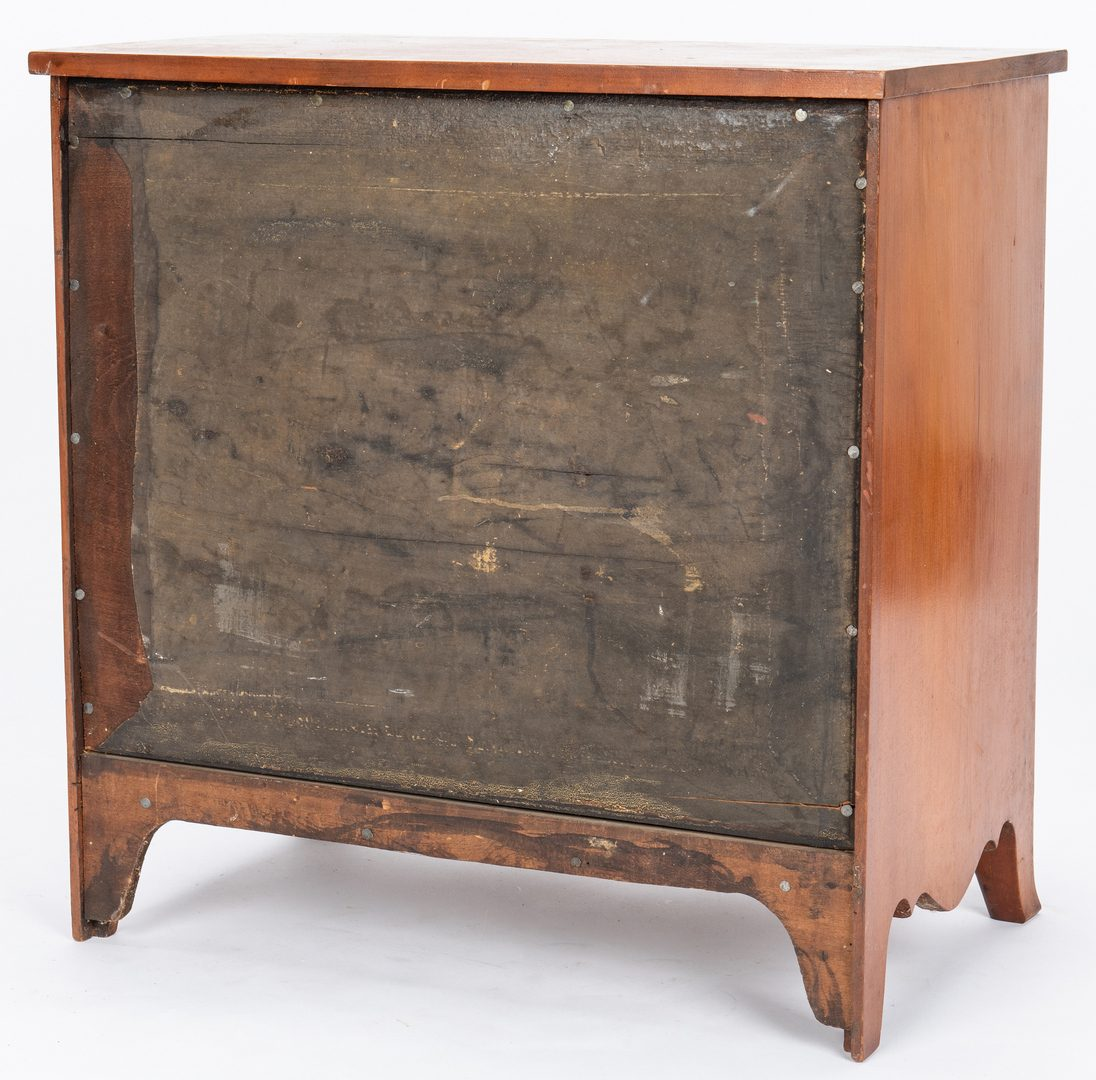 Lot 121: 3  Southern Miniature Furniture Items, incl. Chests
