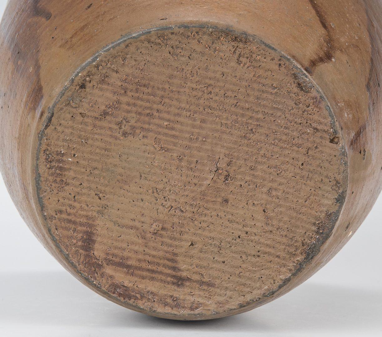 Lot 125: 3 Washington Co., VA Pottery Jars, E. W. Mort