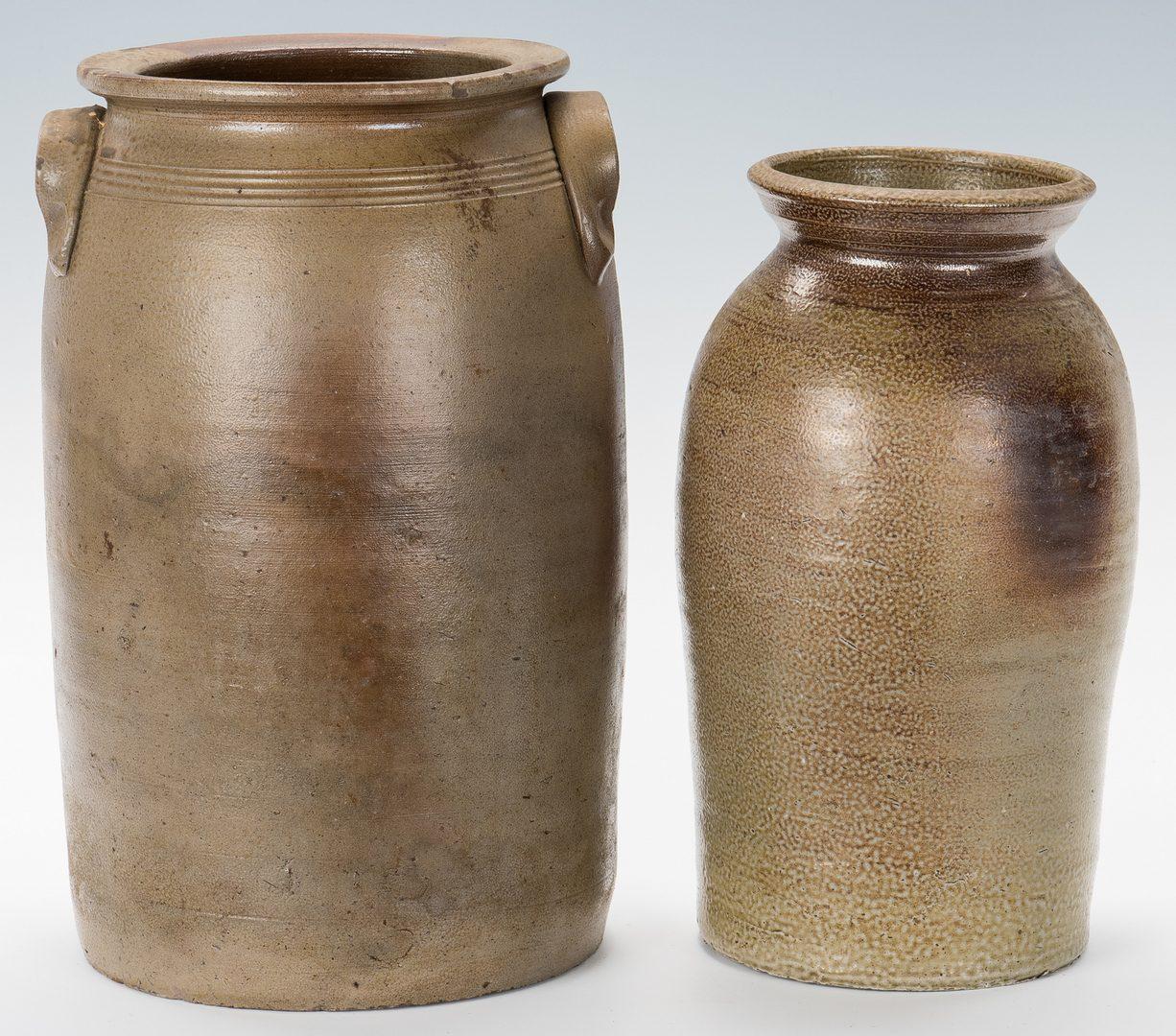 Lot 129: 4 NC Randolph County Stoneware Pottery Pcs.