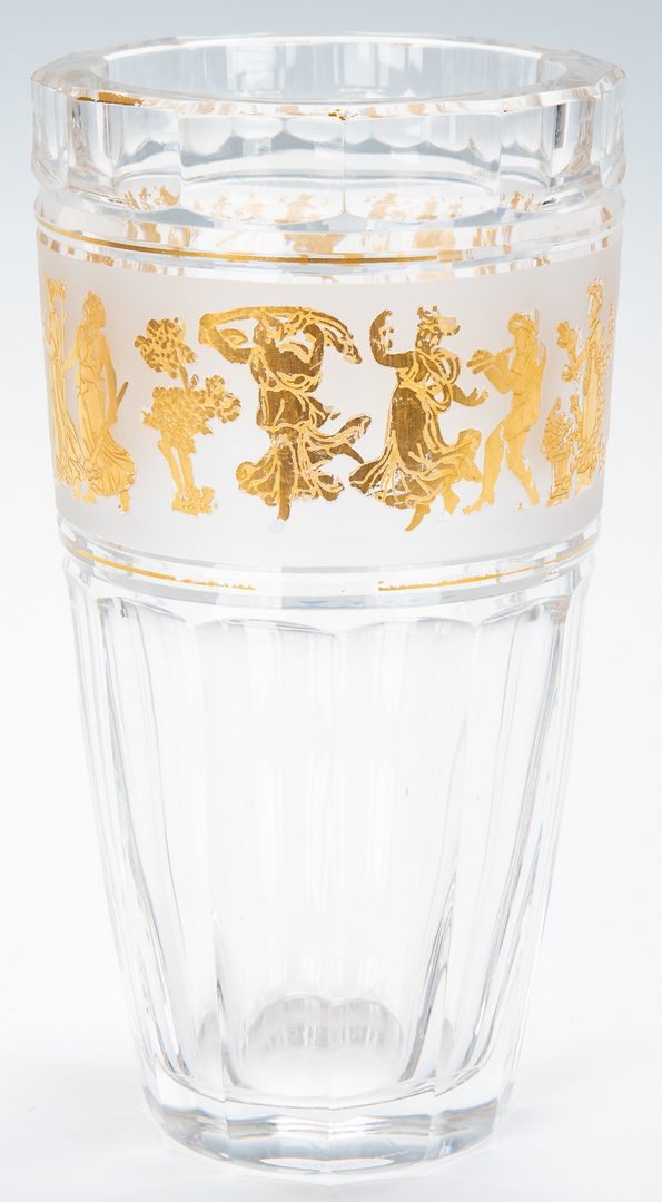 Lot 135: 6 Decorative Glass Items, incl. Val St. Lambert, Baccarat, Orrefors