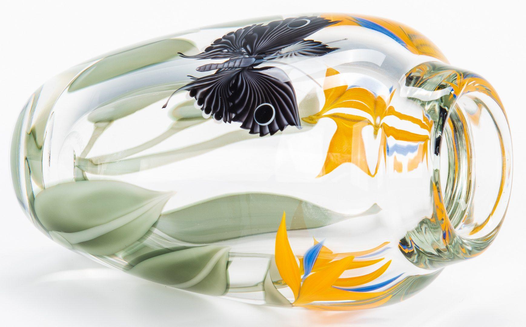 Lot 138: 2 Orient & Flume Art Glass Vases