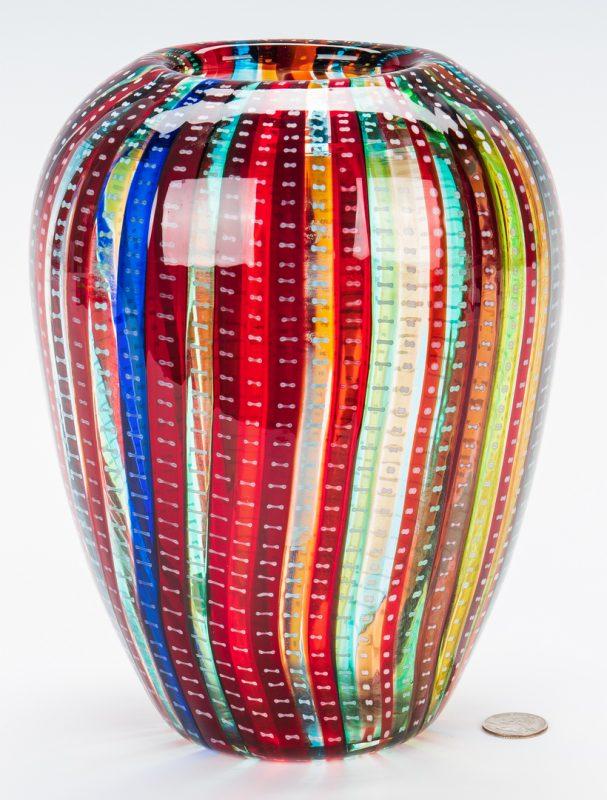 Lot 139: Murano Cenedese Art Glass Vase