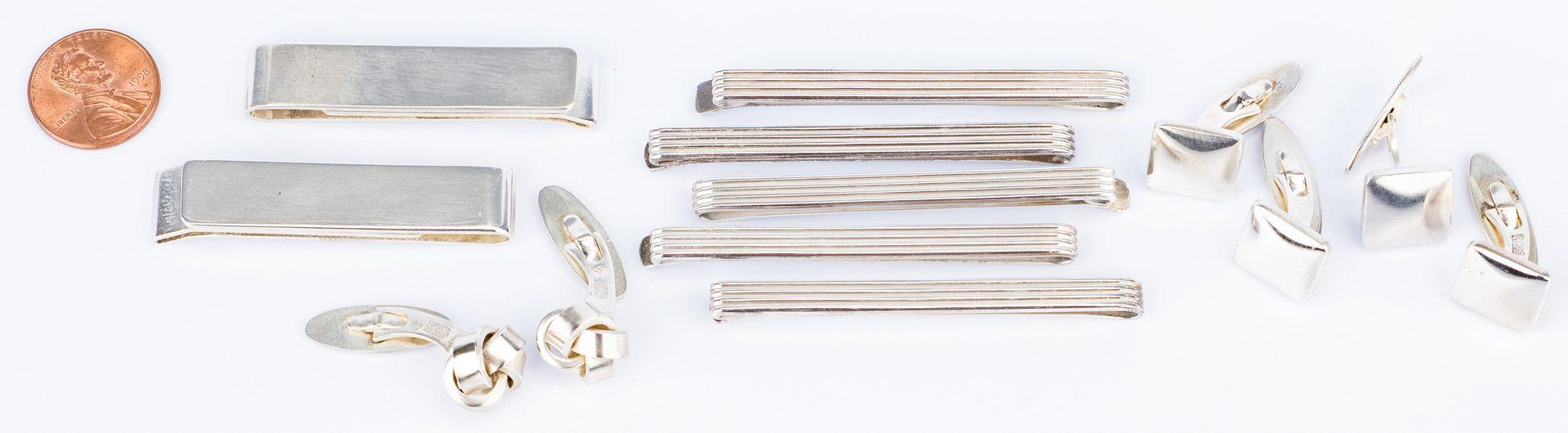 Lot 149: Anton Michelsen Danish Men's Jewelry