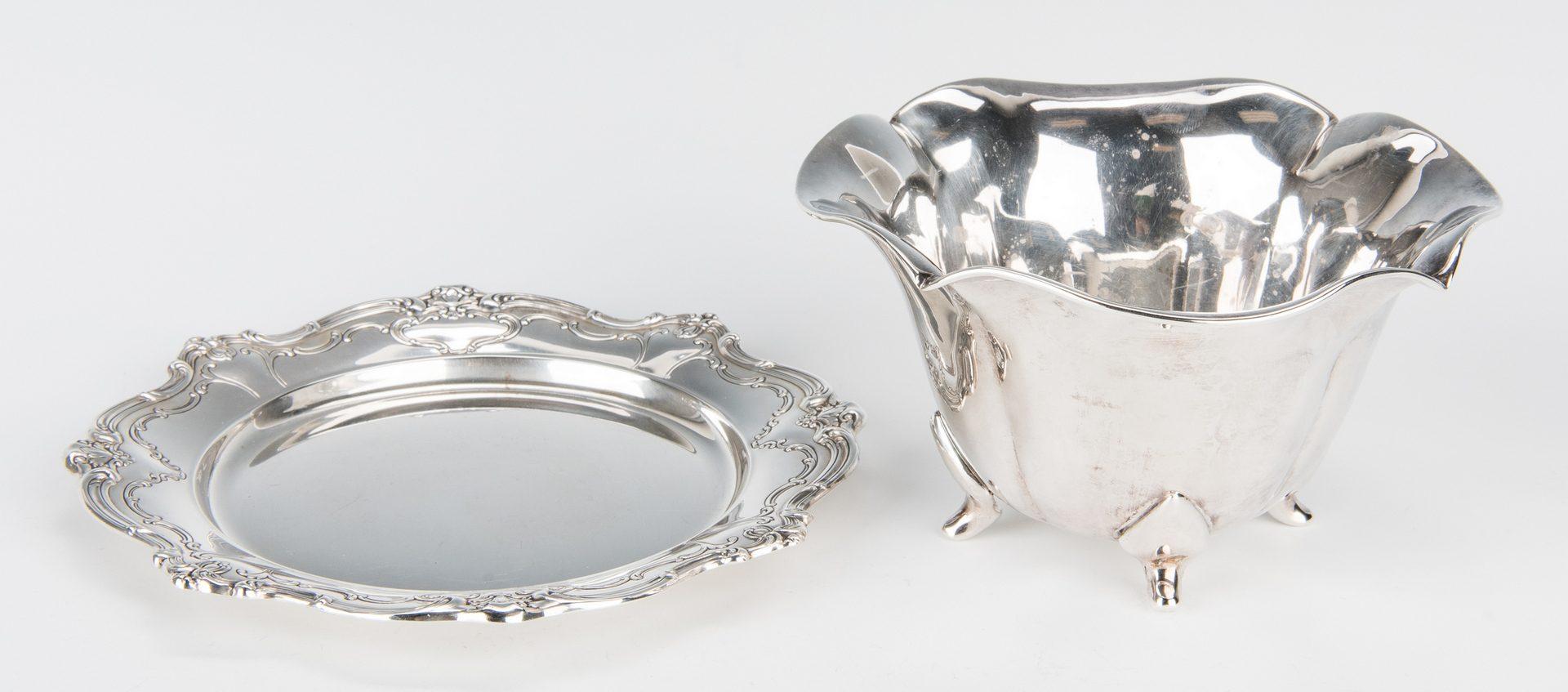Lot 159: Group Sterling Silver Tableware & Flatware, 34 Pcs.