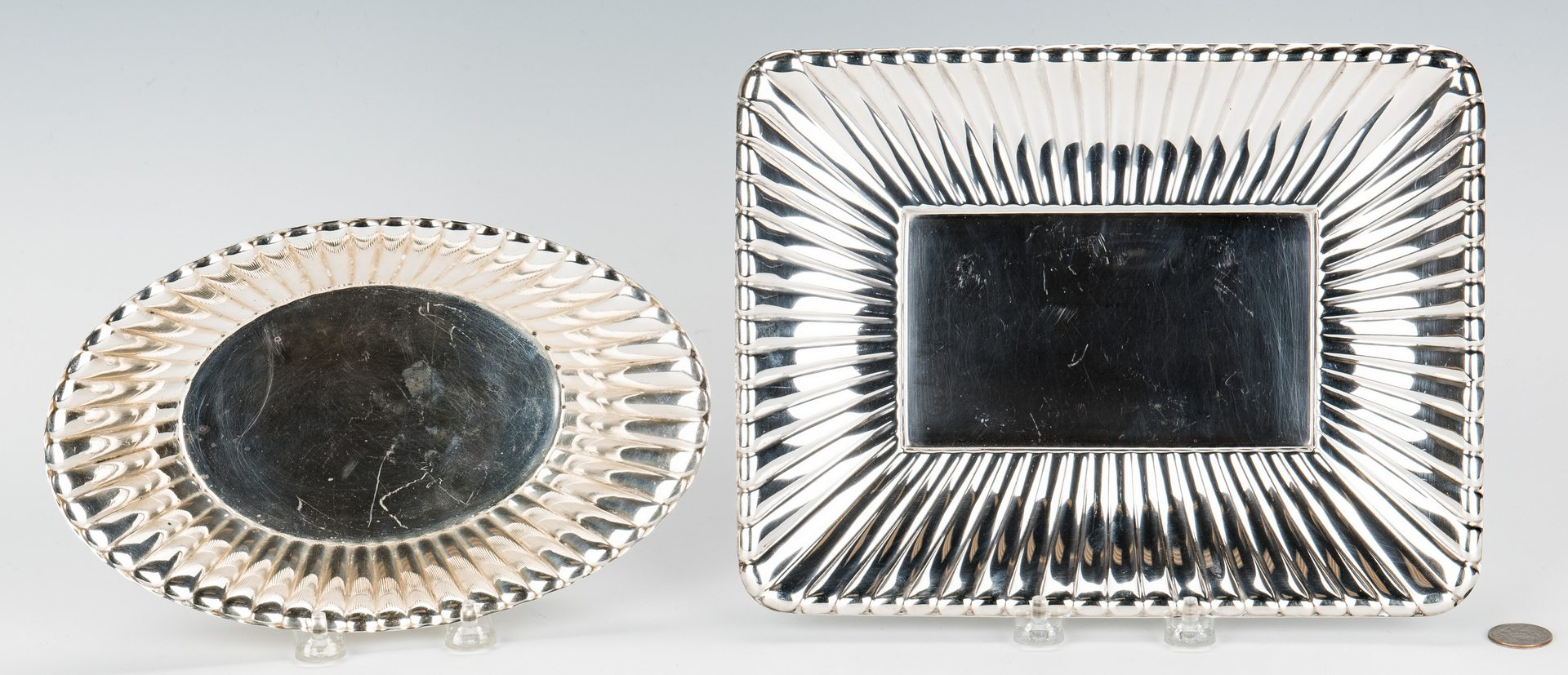 Lot 163: 2 Reed & Barton Sterling Dishes