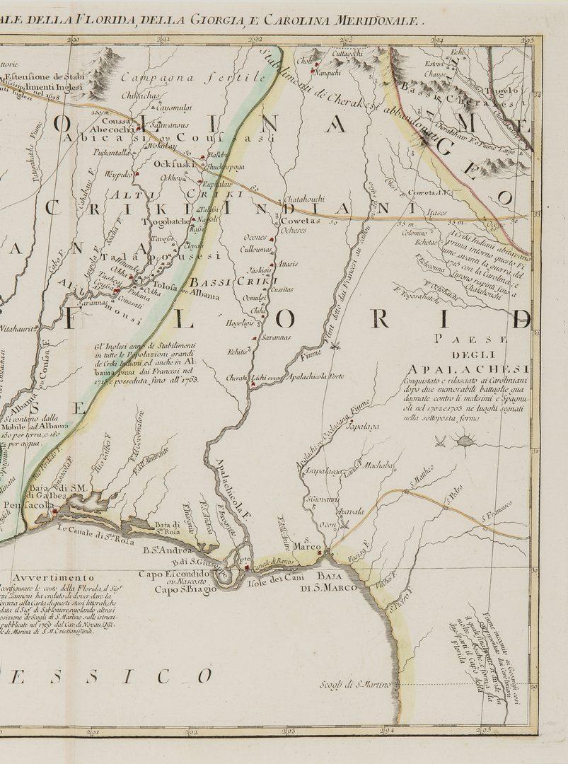 Lot 169: 3 Native American Items, incl. A. Zatta Map