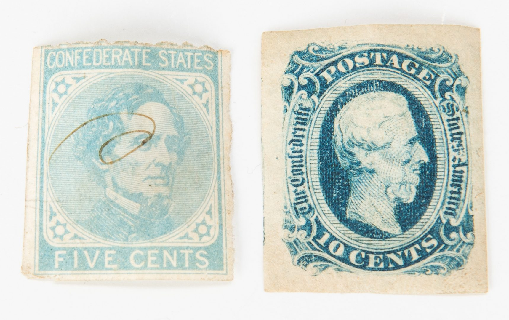 Lot 175: 15 Civil War items, incl. 1864 bond receipt, buttons