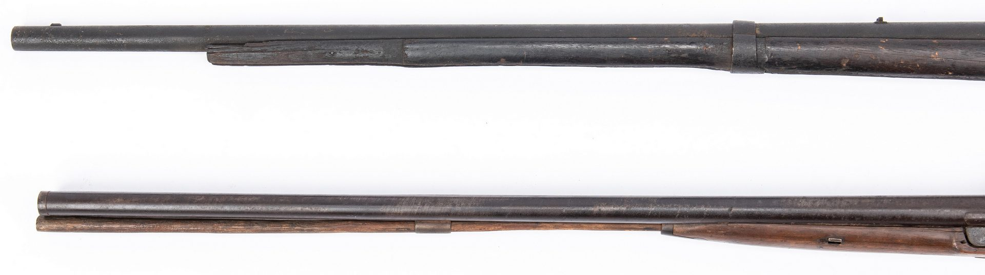 Lot 181: 2 Relic Early/Mid 19th Century Firearms, poss. Battlefield Pickup