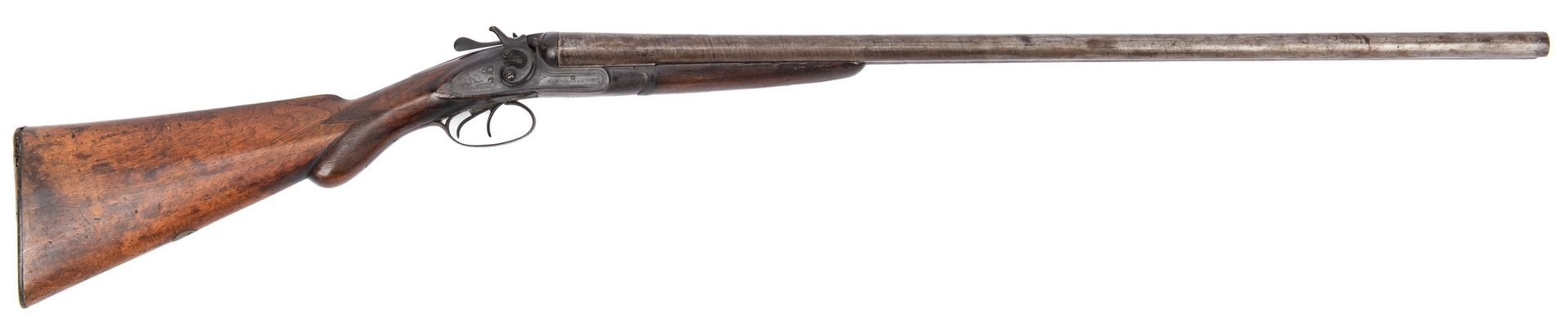 Lot 183: W. Richards Company, London Double Barrel Shotgun, 16 gauge