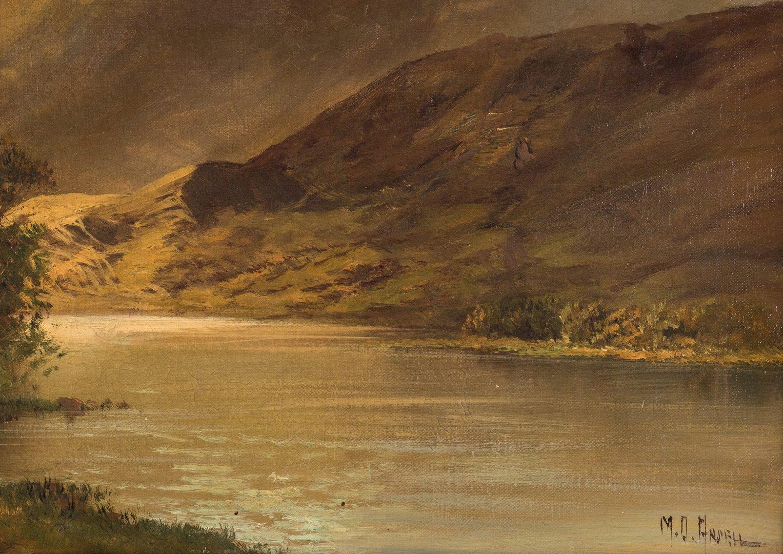 Lot 193: British O/C Landscape, Montgomery Ansell