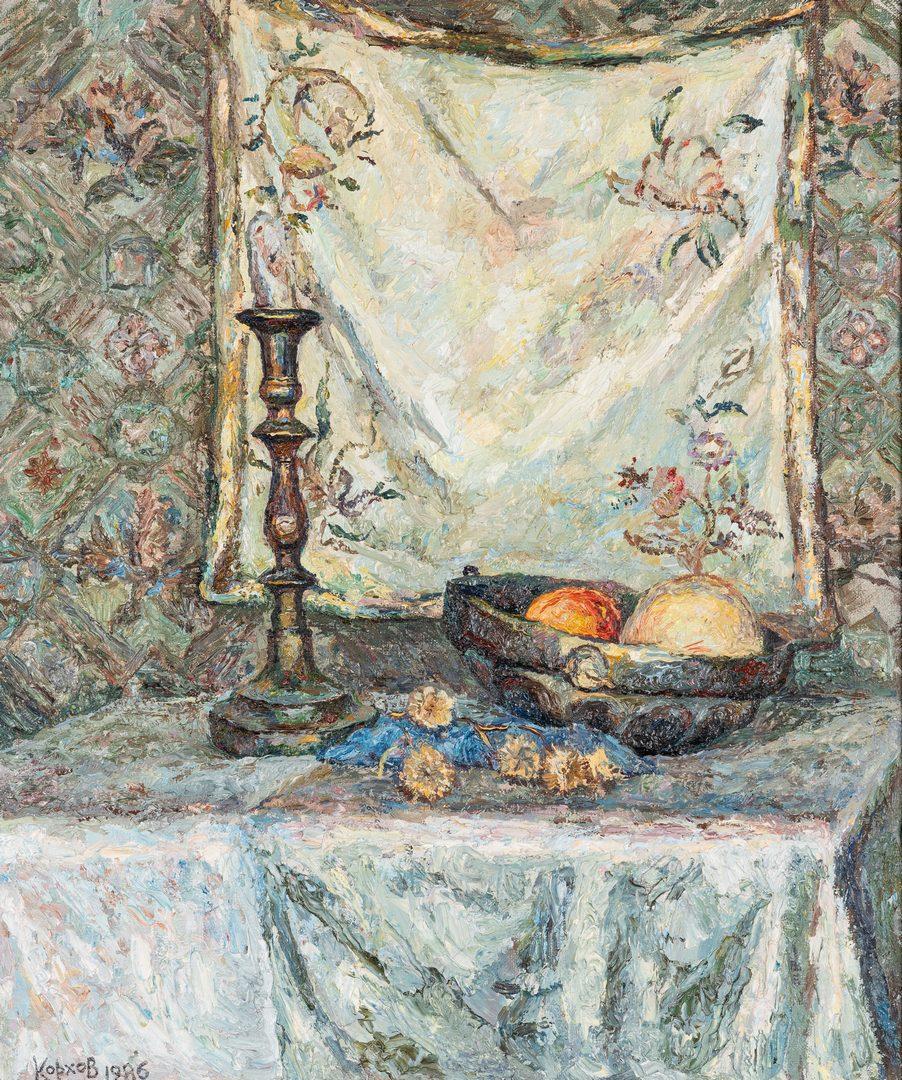 Lot 196: 3 European Oil Paintings, incl. Mieczyslaw Olszewski