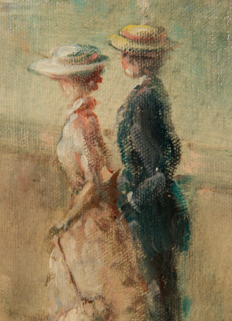 Lot 203: G. Hart Impressionist Oil on Canvas