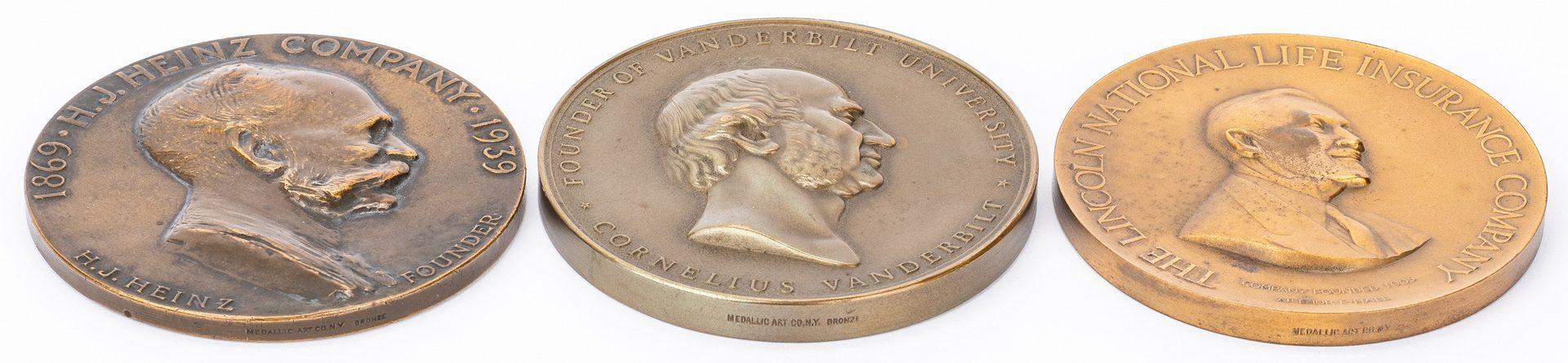 Lot 210: 13 Medallions inc. Vanderbilt, LA Dodgers