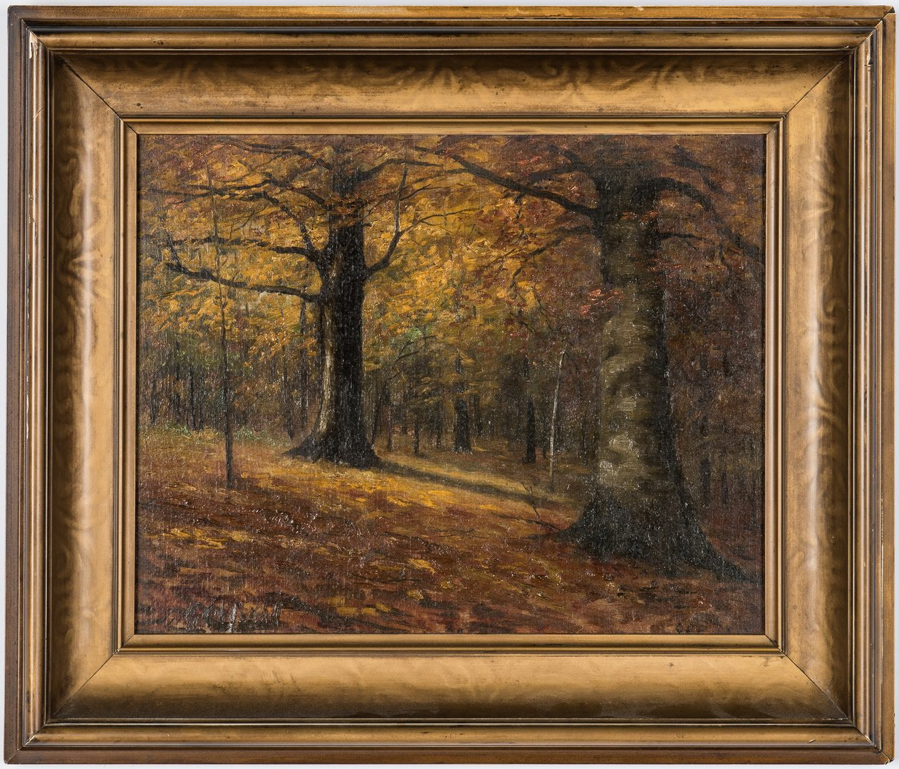 Lot 212: Thomas M. Cleland O/B, Fall Landscape