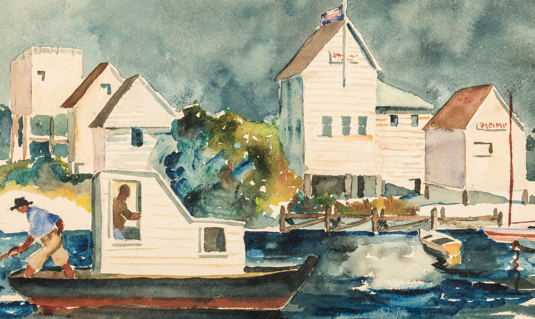 Lot 214: Harry H. Shaw Artwork and more