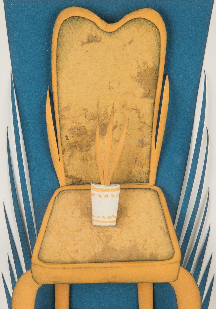 Lot 239: Jorge Rosano 3D Framed Chair