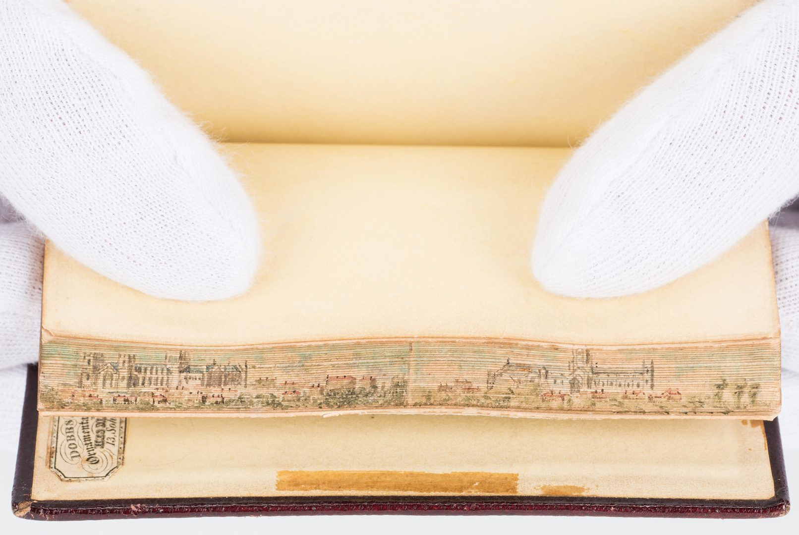 Lot 247: 2 Early 19th Cent. Double Fore-Edge Painted Books