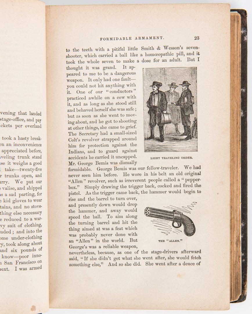 Lot 248: 5 Mark Twain Books, incl. 1st Eds.