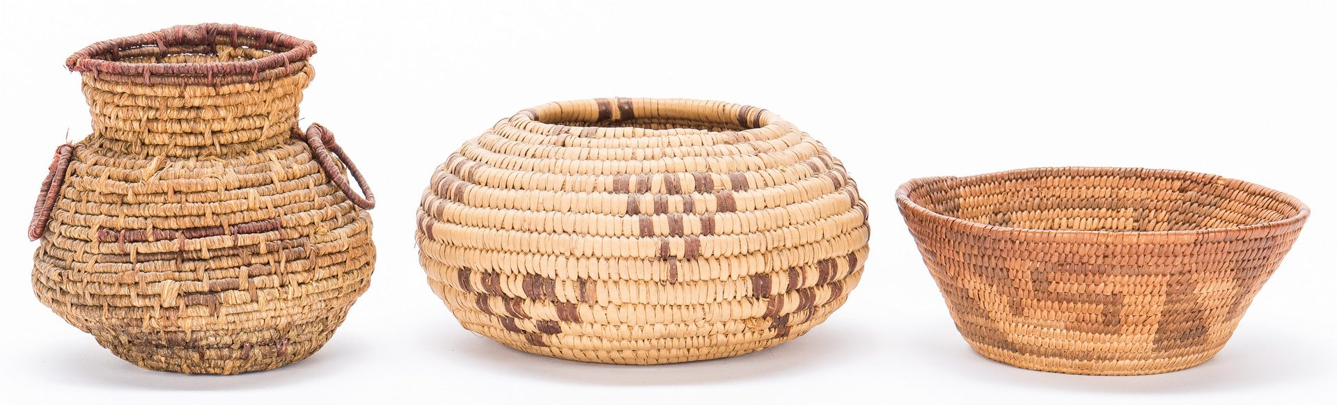 Lot 269: 19 Assorted Native American Baskets