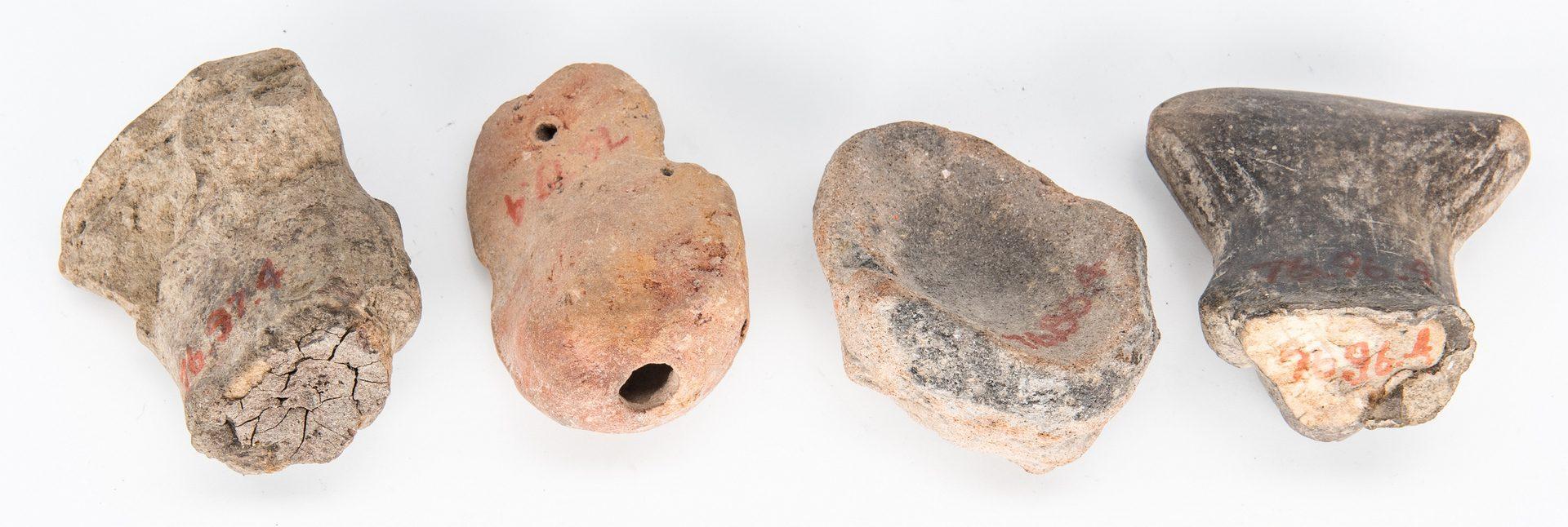 Lot 292: 29 Pre-Columbian Human Effigies, incl. Jama Coaque