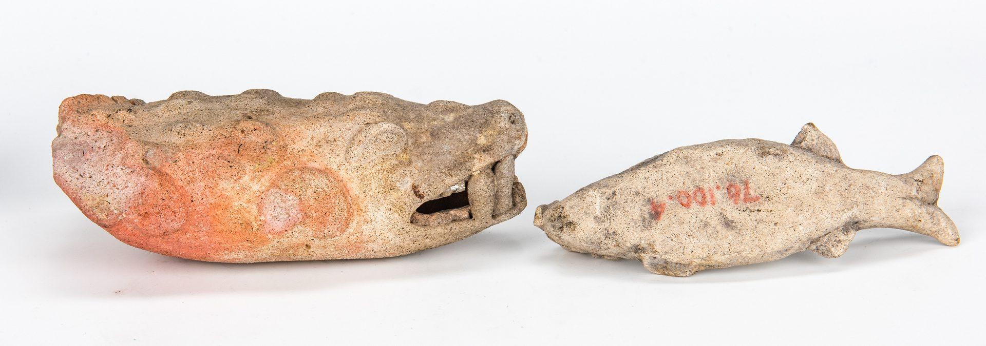 Lot 293: 28 Pre-Columbian Animal Pottery Effigies