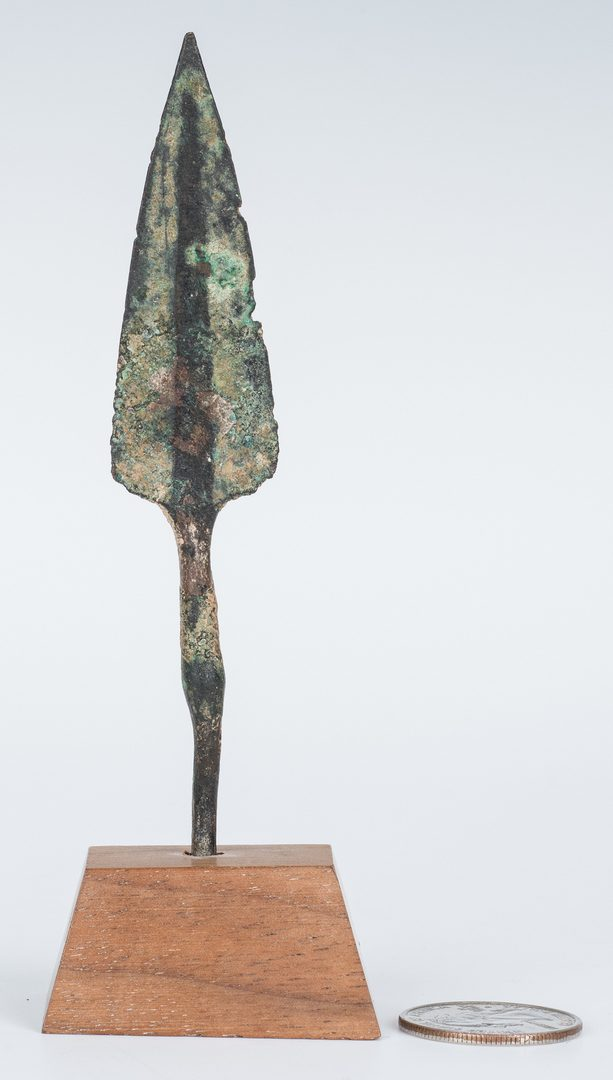 Lot 299: Iranian Amlash Culture Bronze Spear Tip