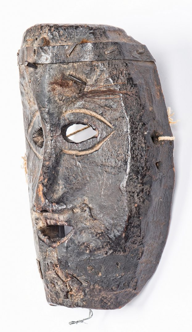 Lot 305: 3 Himalayan Carved Masks