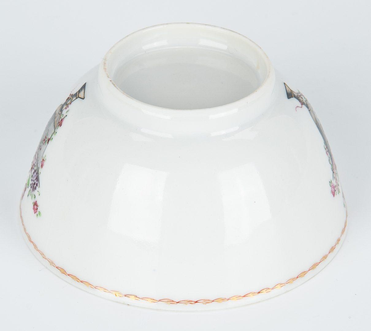 Lot 315: 4 Asian Porcelain Items, incl. tea caddies