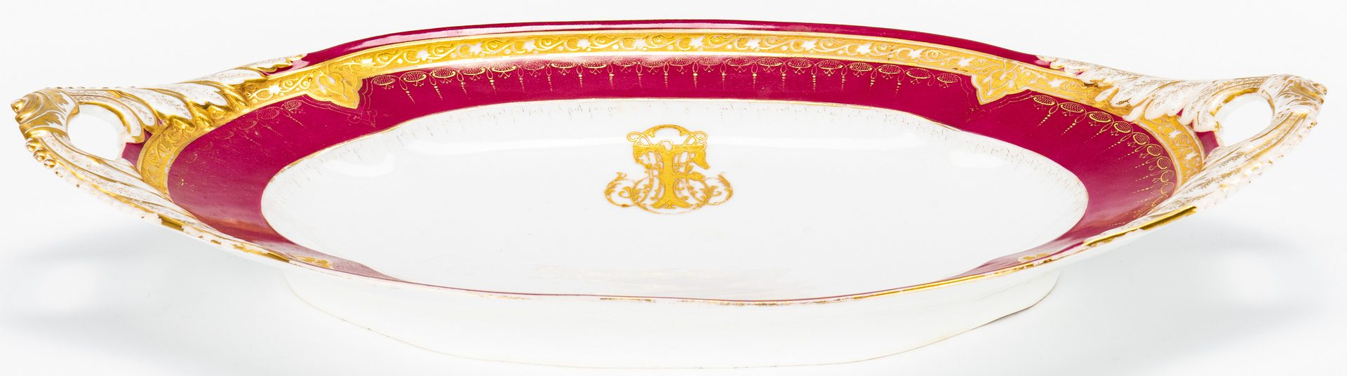 Lot 326: 4 French Ceramic Items, incl. Honore Savy, Guerin, Haviland