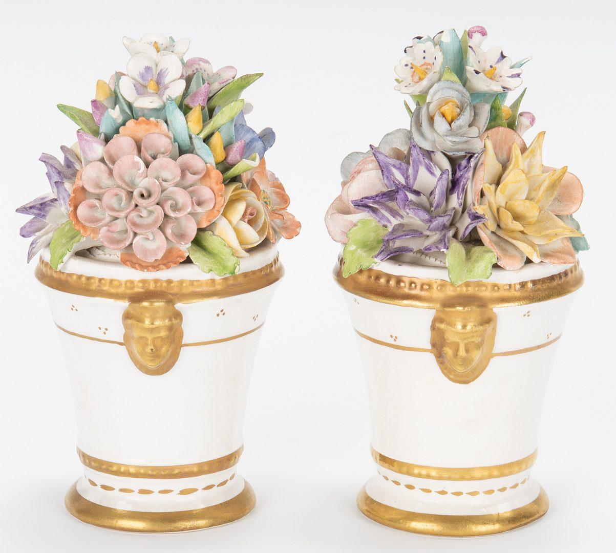 Lot 327: Group of 6 European Porcelain Items