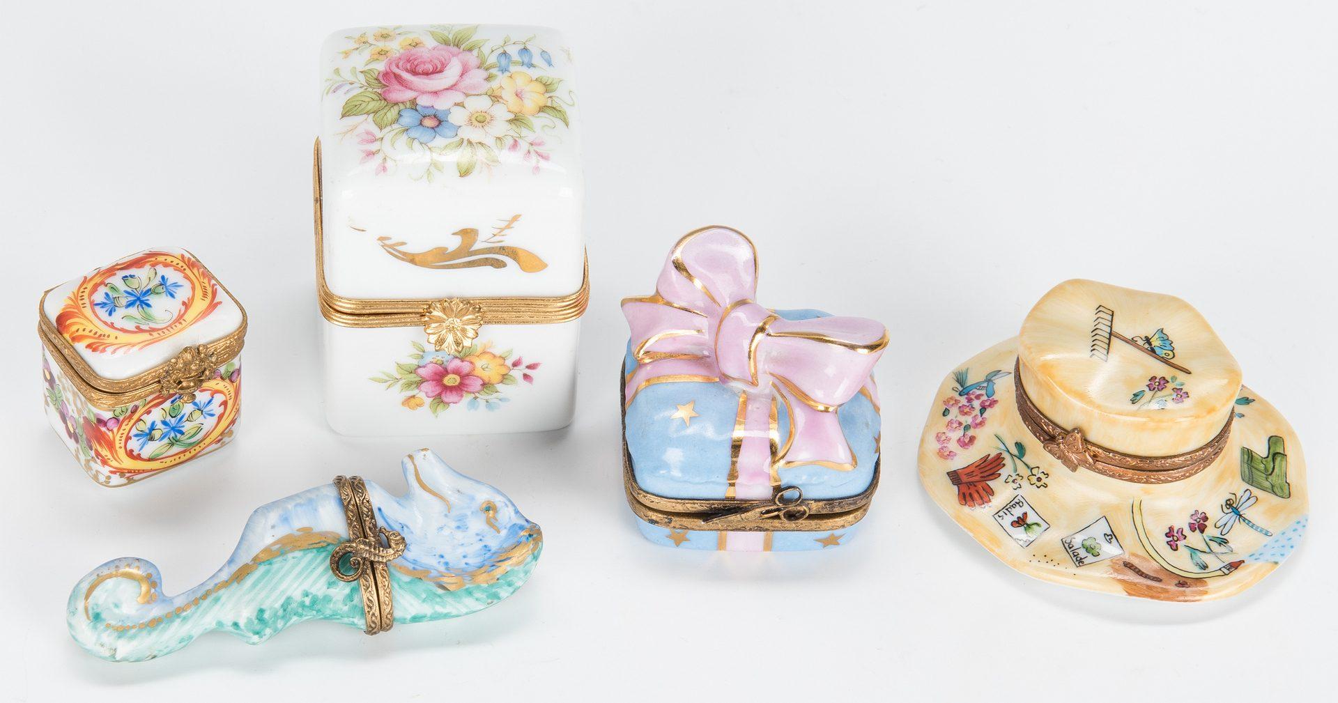 Lot 333: 21 Assorted American & European Porcelain Items