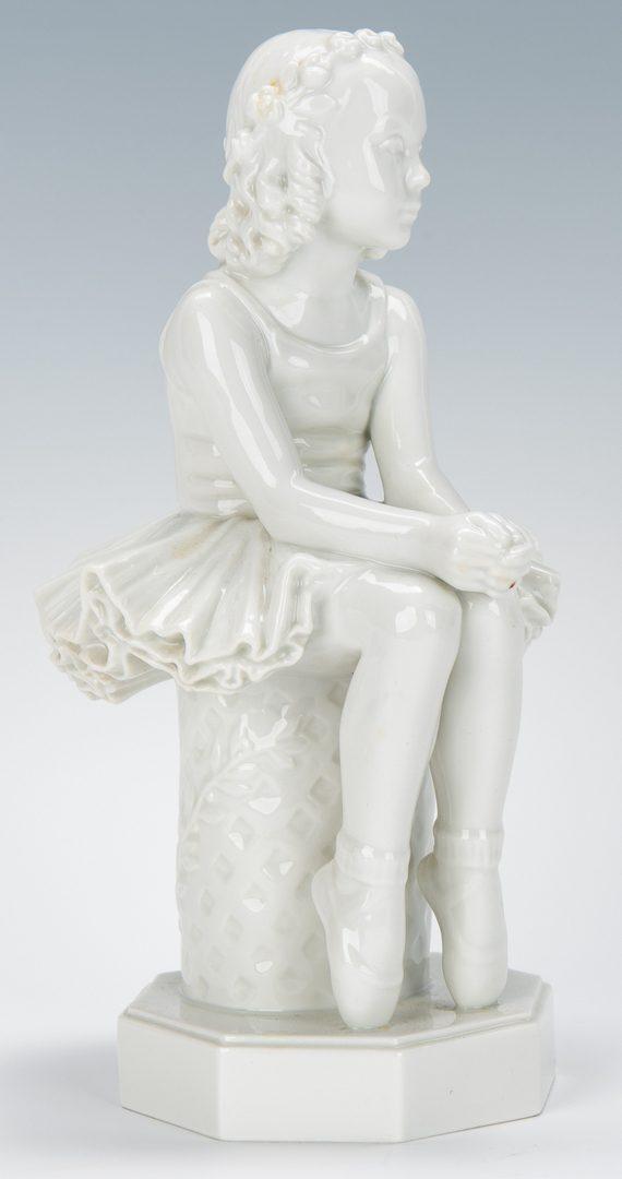 Lot 334: 5 Royal Copenhagen Porcelain Figurines