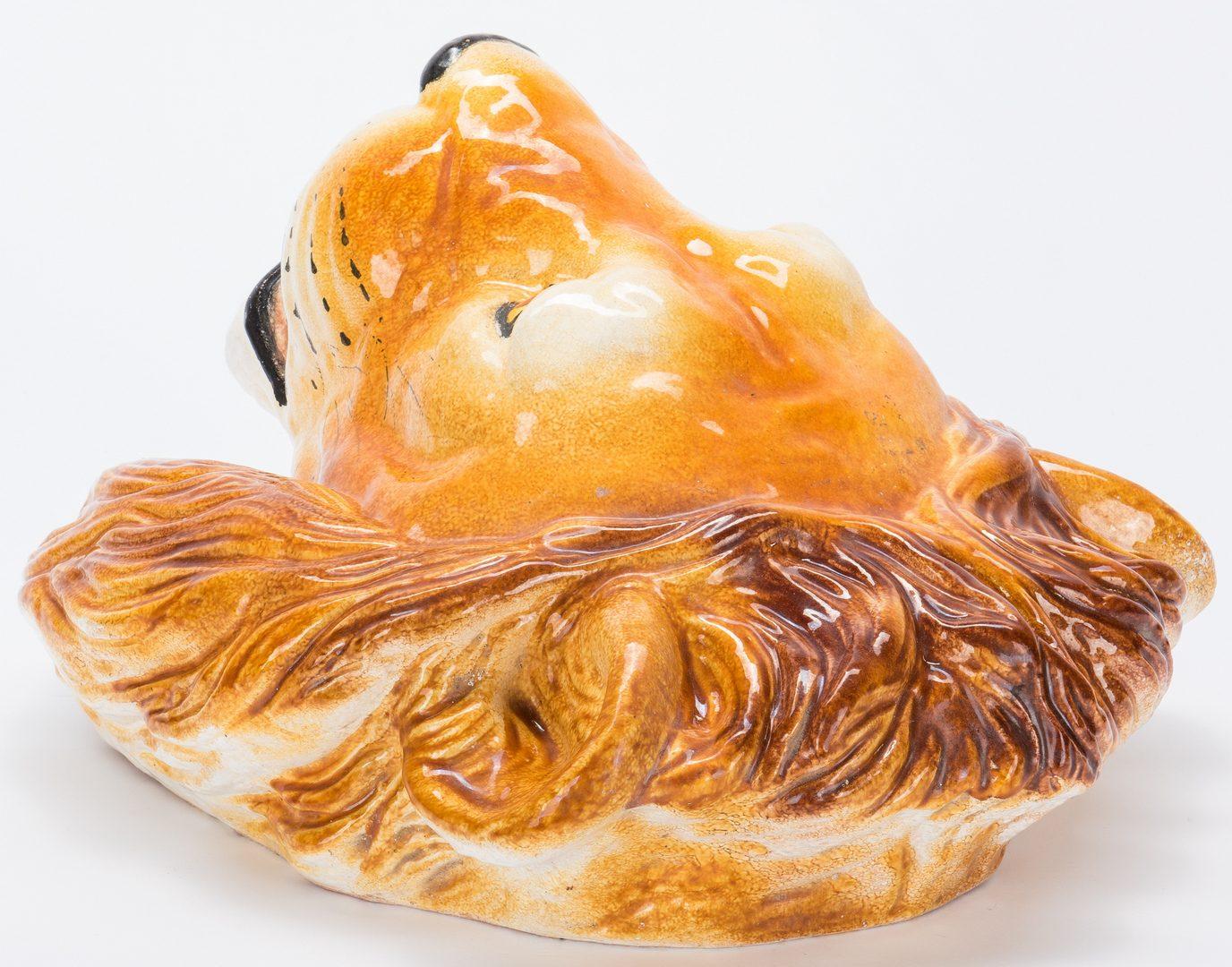 Lot 337: Ceramic Lion's Head Mask
