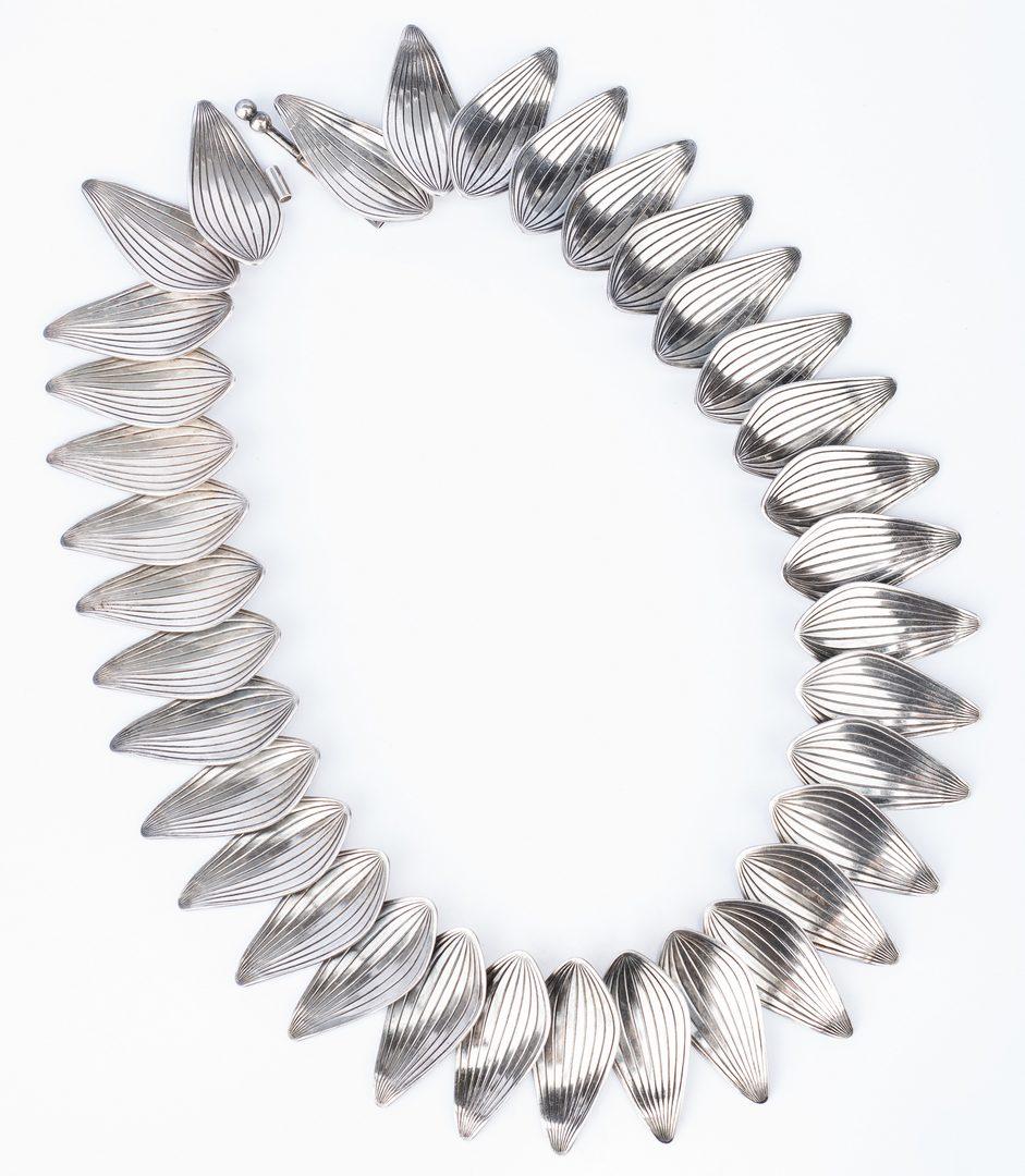 Lot 33: Anton Michelsen Danish Sterling Jewelry, 32 items