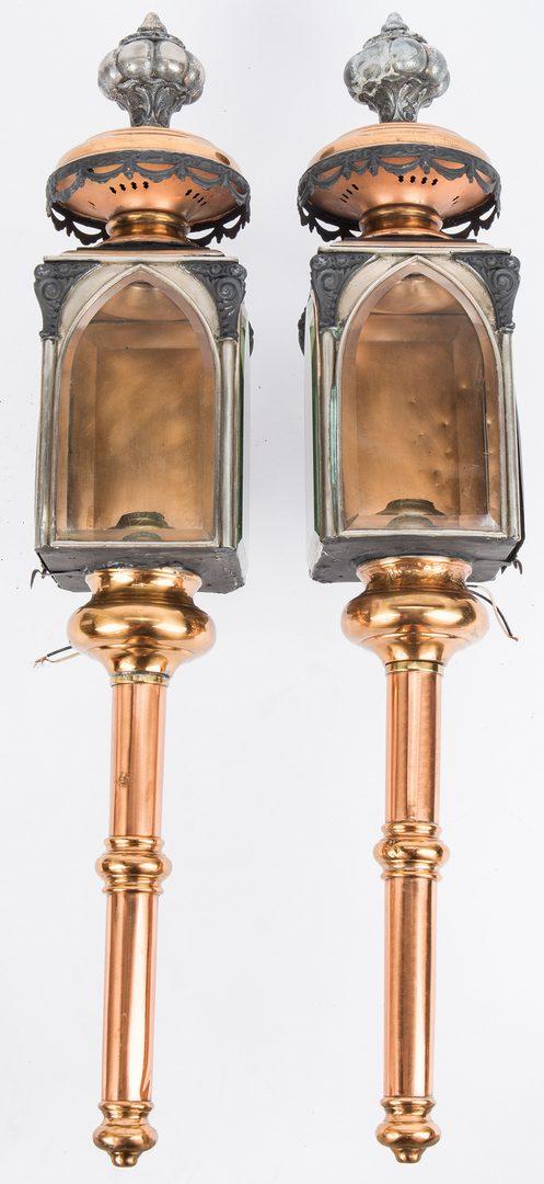 Lot 342: Pair 19th Century Lanterns, Nashville history