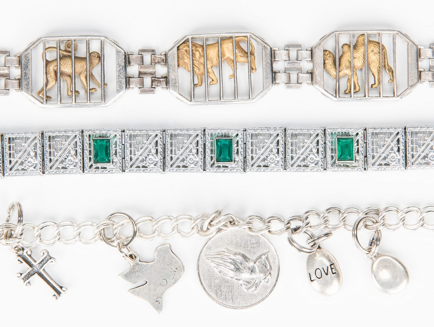 Lot 353: Collection of various Sterling Items & more