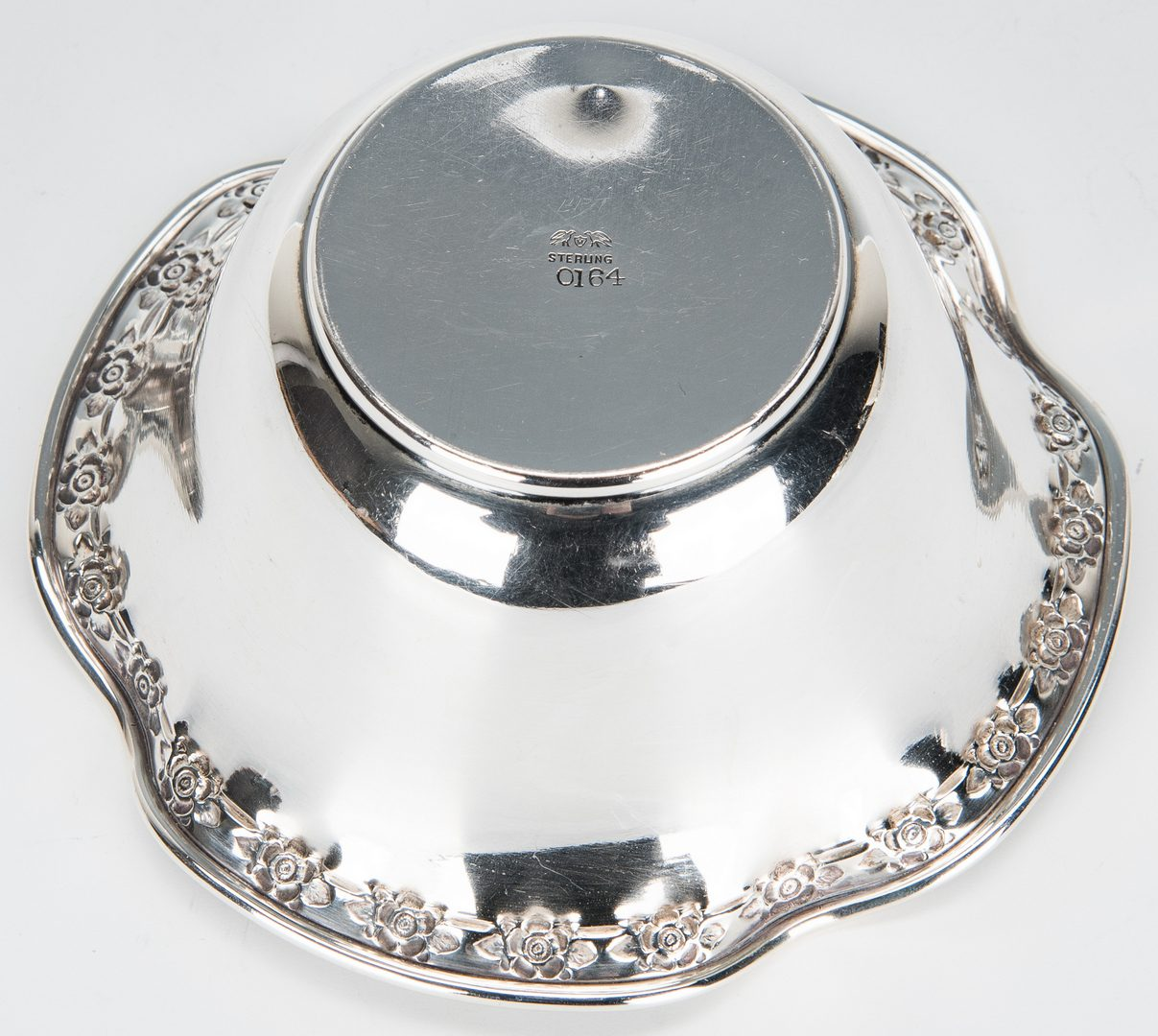 Lot 355: 12 Sterling Table Items incl. Royal Danish