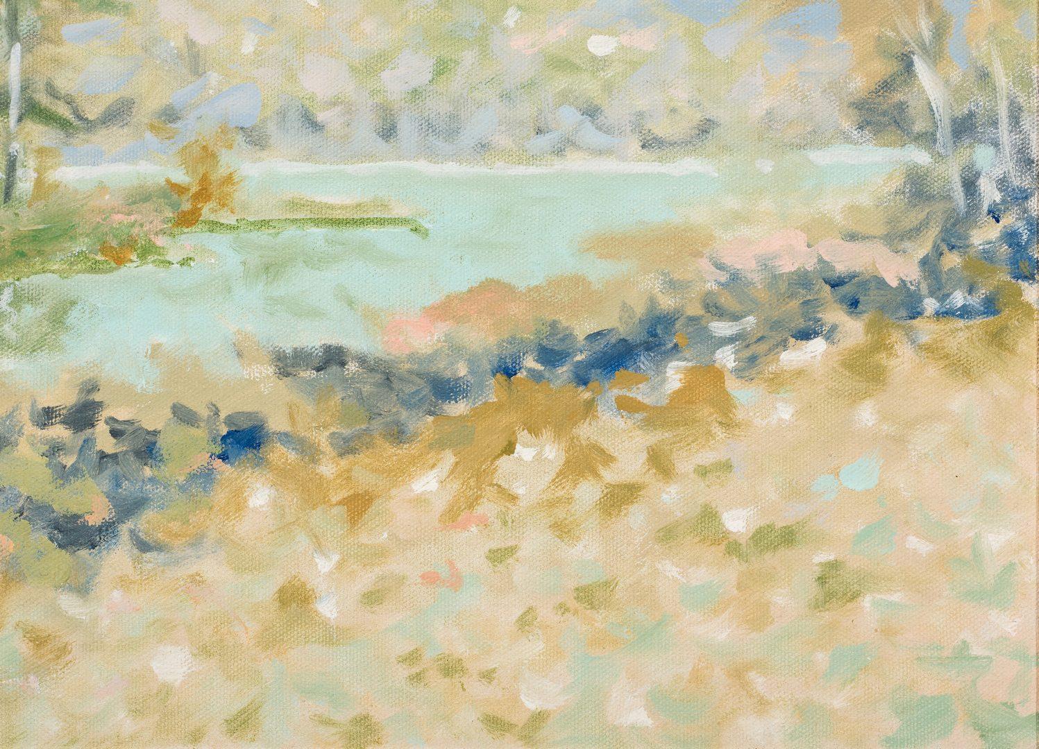 Lot 368: Maurice Monnard O/C Impressionist Landscape