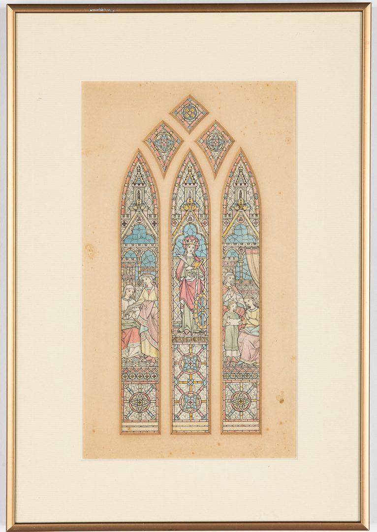Lot 371: 2 Window Studies attr. Frank Tenney Johnson or Kar