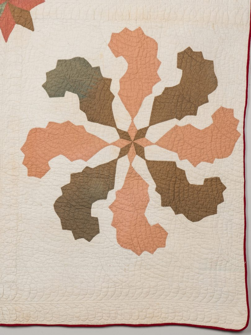 Lot 389: 2 Southern, poss. East TN Quilts, Mariner's Compass & Tree of Life