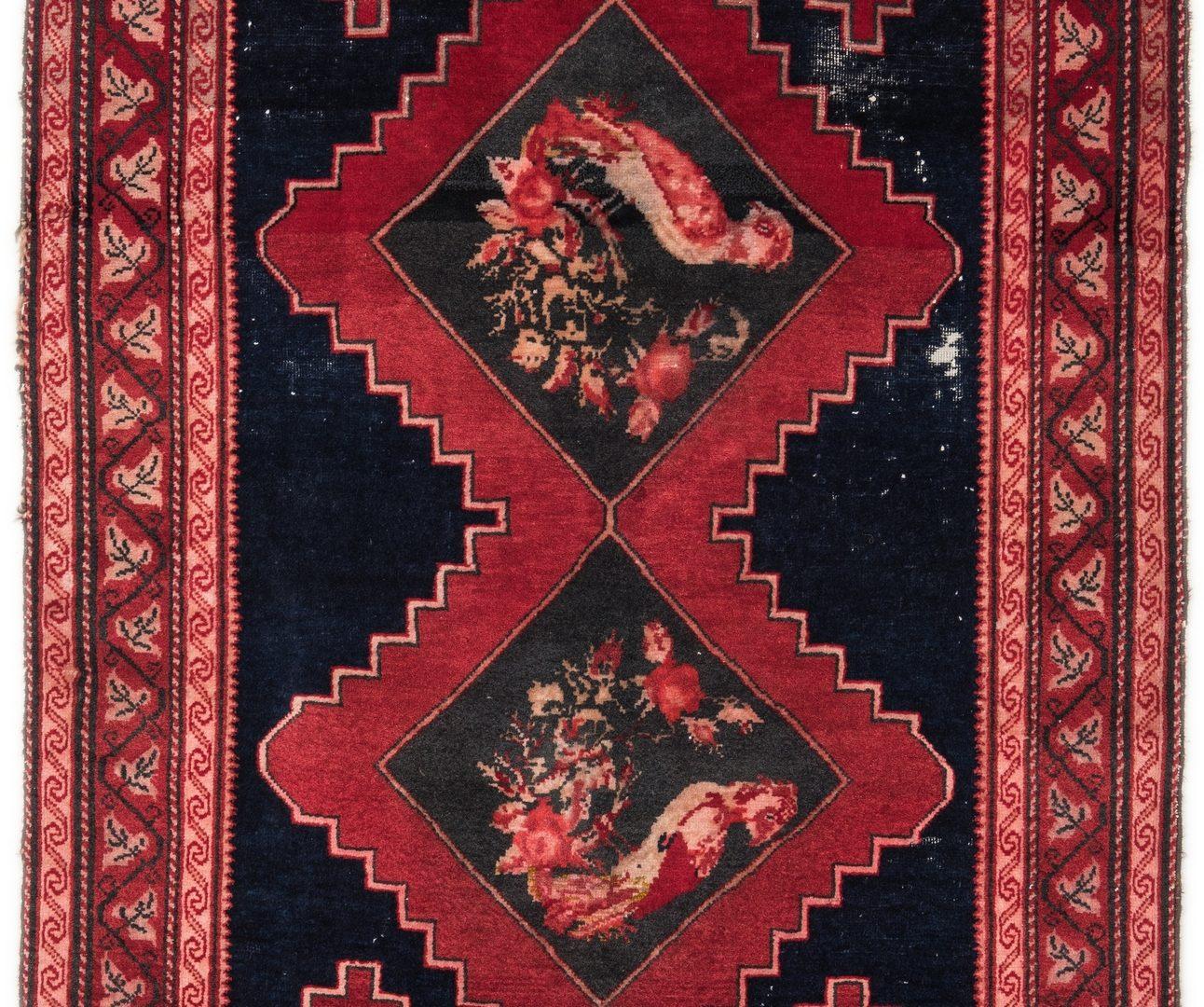 "Lot 397: Karagagh area rug, 6'2"" x 3'6"""
