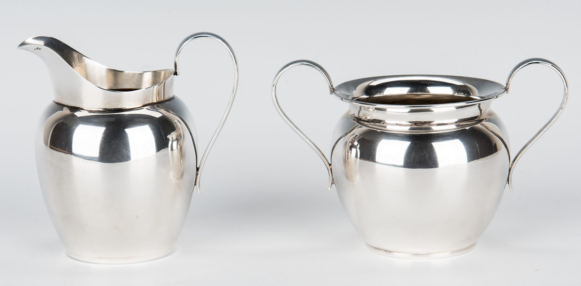 Lot 40: 3 Pc. Watson Sterling Batchelor Coffee Set w/Tray