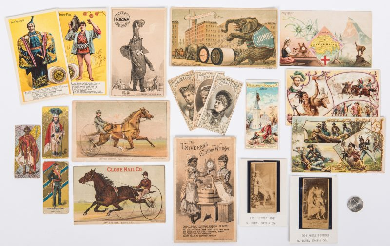 Lot 414: Collection of 767 Trade Cards, incl. Coffee & Cigarette