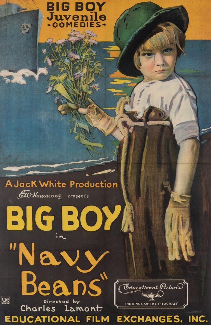 Lot 415: 2 Big Boy Movie Posters, 1920's